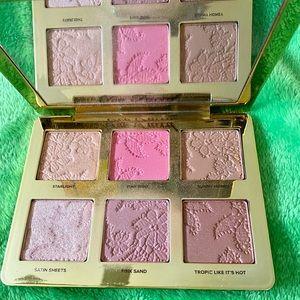 Natural Face Highlight, Blush and Bronzing Veil